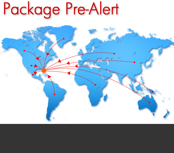 Pre-Alert your package