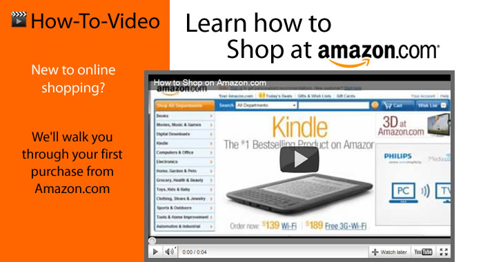 How to shop at Amazon.com
